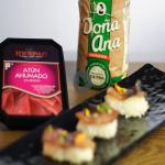 Receta: Niguiris de arroz Doña Ana con atún ahumado HERPAC
